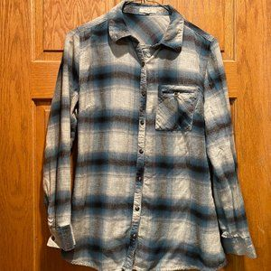 Maurices Plaid Flannel Shirt, S